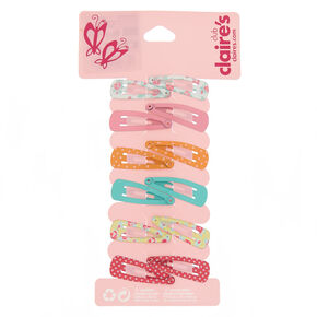 Claire's Club Snap Hair Clips - 12 Pack,