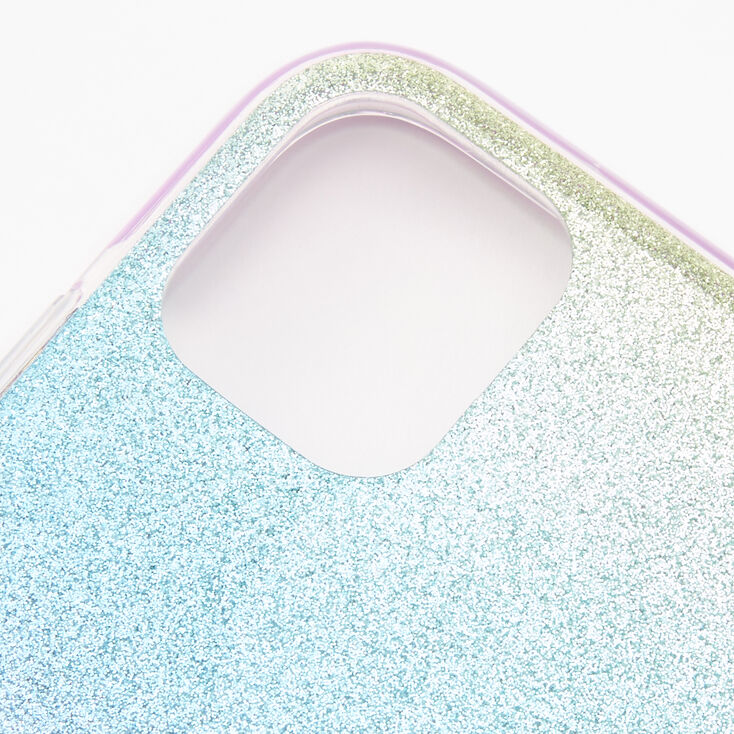 Pastel Glitter Ombre Phone Case - Fits iPhone 11,