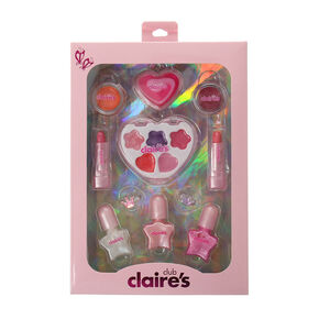 Claire's Club Shimmery Makeup & Ring Set,