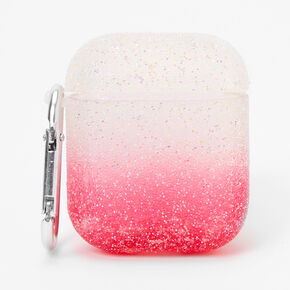 Pink Ombre Caviar Earbud Case Cover - Compatible with Apple AirPods,