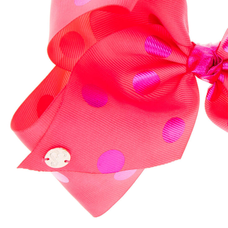 Disco Ball Oversized Bow  Oversized Confetti Bow  Polka dot Oversized bow Clip