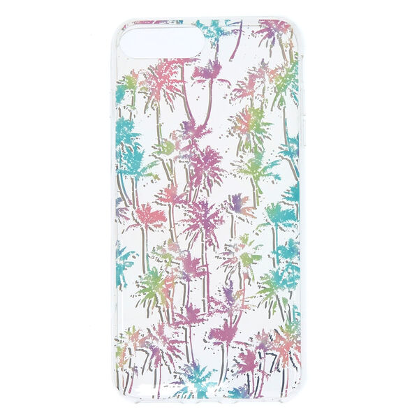 Claire's - pastelpalm tree phone case - 1