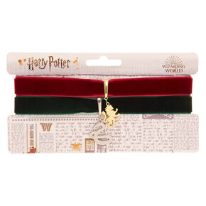 Harry Potter™ Gryffindor and Slytherin Velvet Choker - 2 Pack,