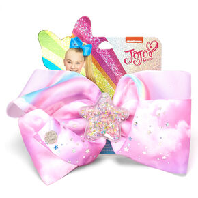 JoJo Siwa™ Large Star Shaker Hair Bow – Pink,