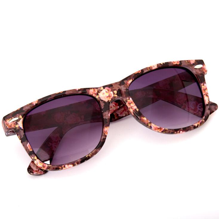 Retro Floral Camo Sunglasses,
