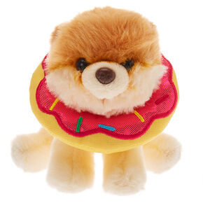 Boo The World's Cutest Dog™ Small Doughnut Soft Toy - Cream,