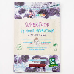 7th Heaven Superfood Acai Sheet Mask,