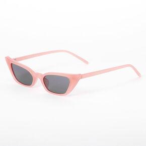 Slim Cat Eye Sunglasses - Blush,