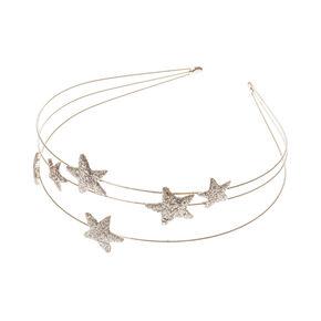 Claire's Club Gold Stars Headband,