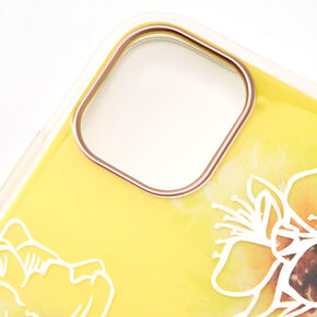 Yellow Floral Phone Case - Fits iPhone 11/11 Pro,