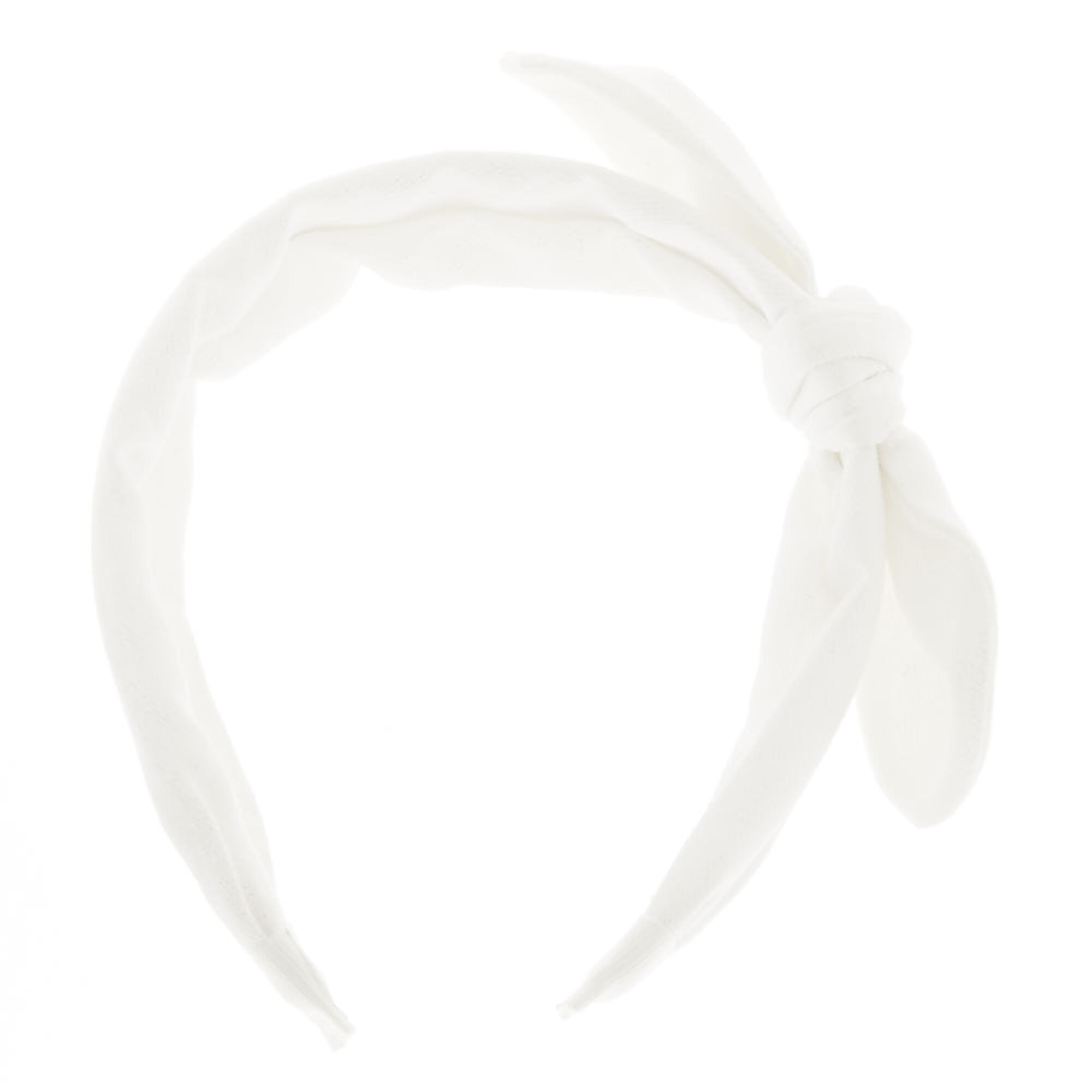 ... Glitter Bow Headband - White 51353303f54