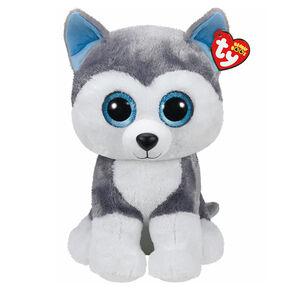 Ty Beanie Boo Large Slush the Husky Plush Toy,