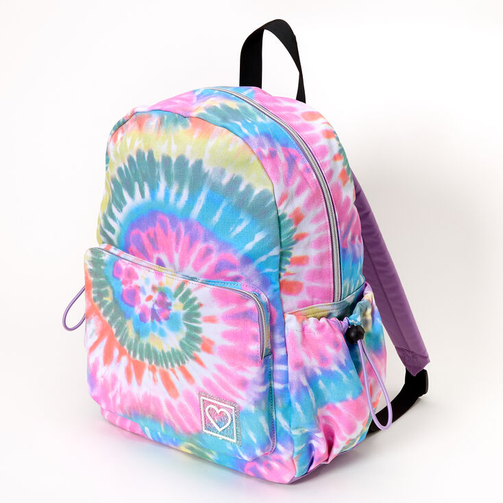 Rainbow Tie Dye Large Backpack,