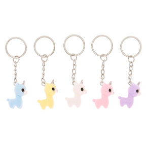 Best Friends Llamacorn Keychains - 5 Pack,