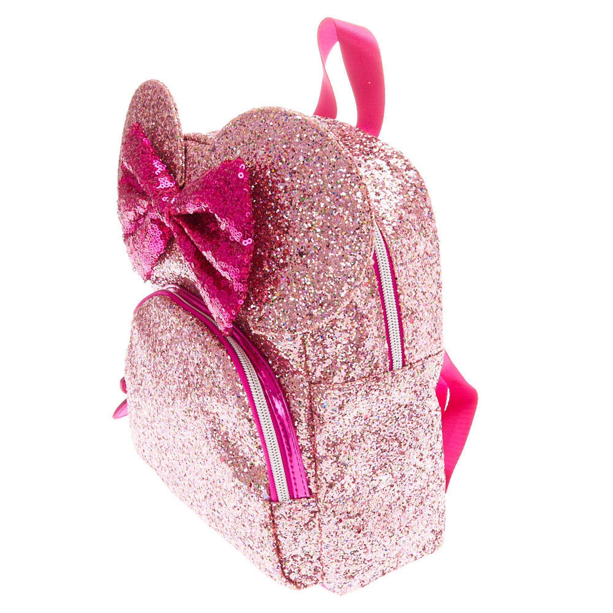 de9035e290a ... Disney reg  Minnie Mouse Ears Glitter Bag- ...
