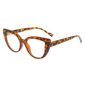 76a8a02473e Tortoise Shell Cat Eye Frames - Brown