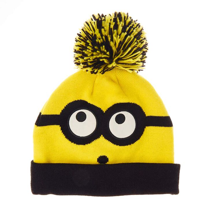 b3f58bcfb5c4c9 Despicable Me 3 Beanie Hat with Pom | Claire's