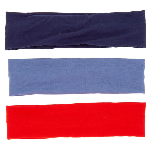 Claire's - classic wide jersey headwraps - 2
