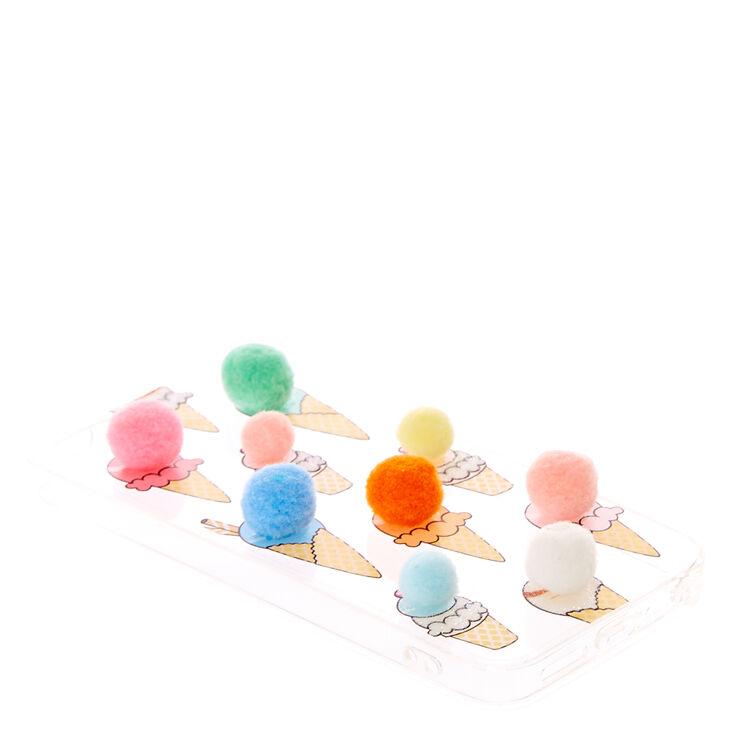 Pom Pom Ice Cream Phone Case,