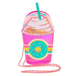Donut Sprinkle Frappe Crossbody Bag - Pink,