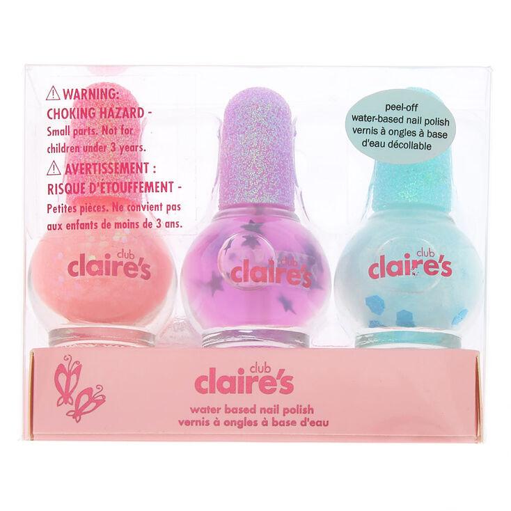 Claire's Club Mini Mystical Nail Polish Set - 3 Pack,