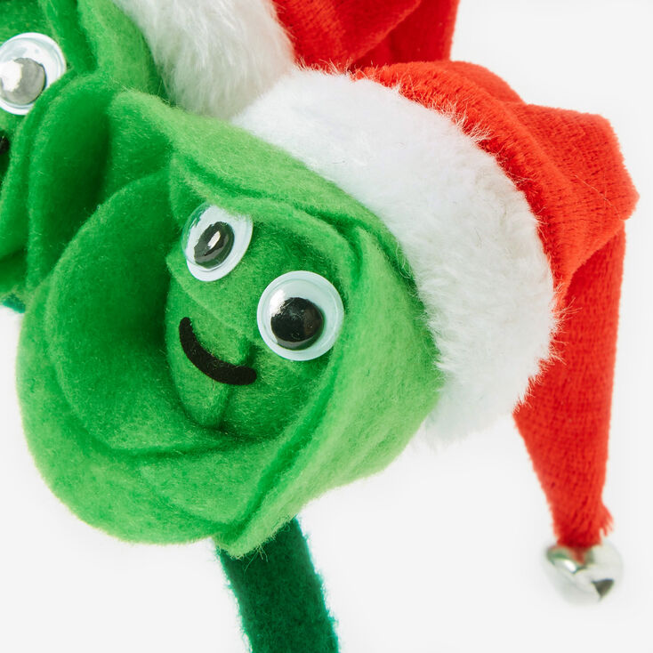 Christmas Brussels Sprouts Headband,