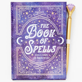 Book Of Spells Journal - Purple,