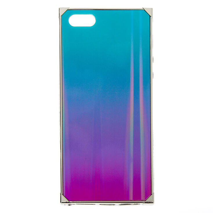 Holographic Ombre Square Phone Case - Fits iPhone 5/5S,