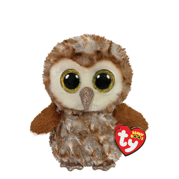 Ty Beanie Boo Small Percy the Owl Soft Toy,