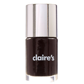 Solid Nail Polish - Black Hole,
