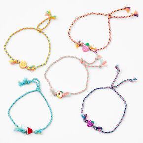 Fruit Mix Bracelets - 5 Pack,