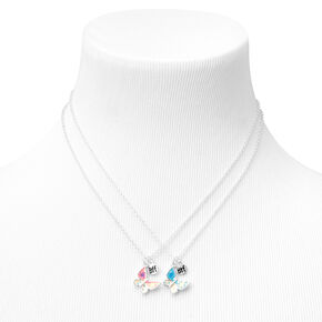 Best Friends Glitter Butterfly Necklaces - 2 Pack,
