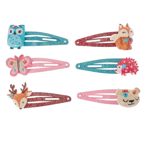 Claire's - club glitter critter snap hair clips - 2
