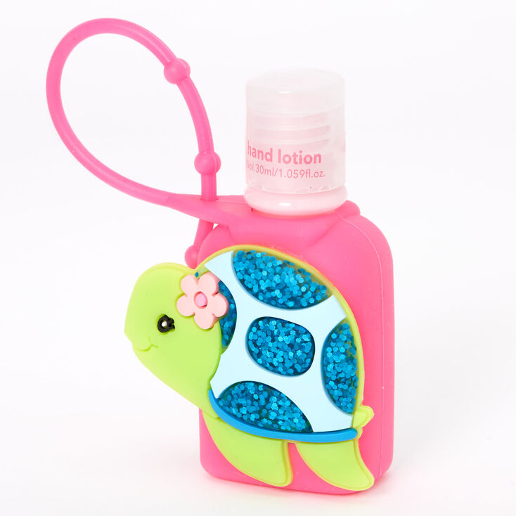 Glitter Tessa the Turtle Hand Lotion - Strawberry,