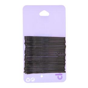 30 Pack Large Black Hair Grips,