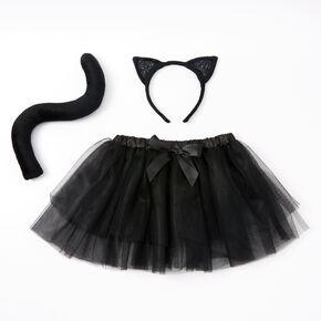 Claire's Club Black Cat Dress Up Set - 3 Pack,