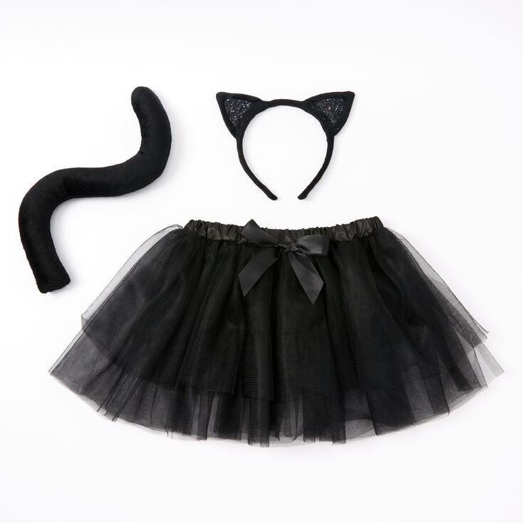 Claire's Club Black Cat Dress Up Set - 3 Pack,