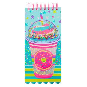 Sprinkle Donut Frappe Layered Notebook,