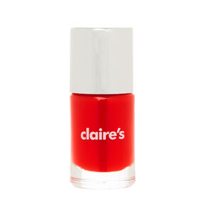 Solid Nail Polish - Bright Red,