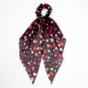 Valentine's Day Hair Scrunchie Scarf,