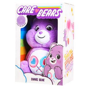Care Bears Share Bear™ Huggable Plush - Purple,