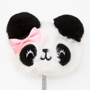 Panda Plush Pen - White,