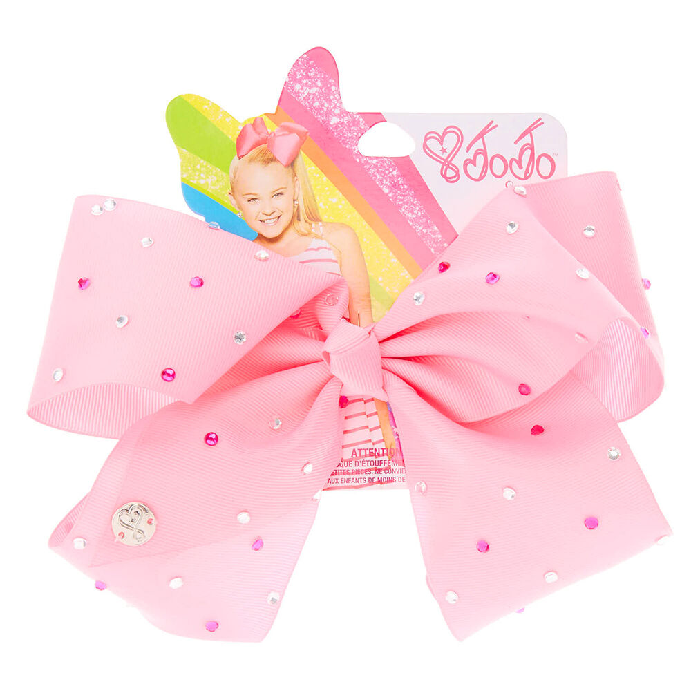Jojo Siwa Large Pink Treats Bow Hair Accessories