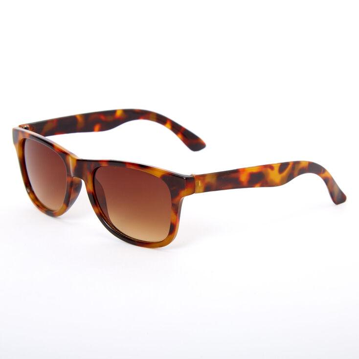 Claire's Club Tortoiseshell Round Sunglasses,