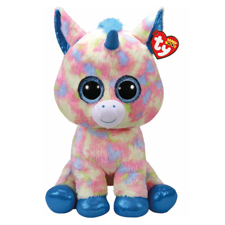 Ty Beanie Boo Large Blitz the Unicorn Plush Toy  bf3830519ec