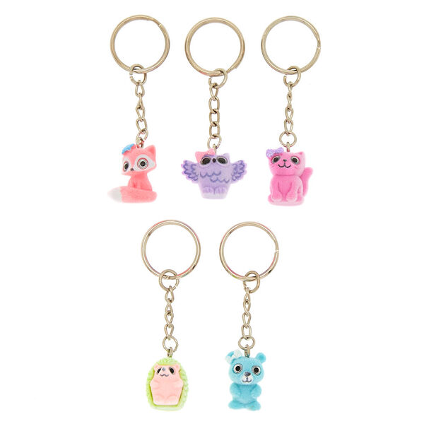 Claire's - best friend animal party keyrings - 1