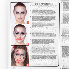 Blood Bride Cosmetic Kit,