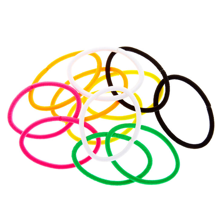 Tropical Rainbow Luxe Hair Bobbles - 12 Pack,
