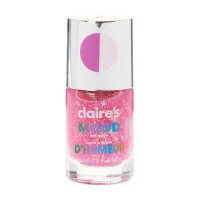 Glitter Pink Mood Nail Polish,