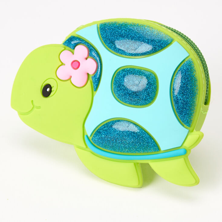 Tessa the Turtle Jelly Coin Purse - Green,